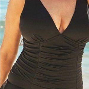 NWT Bathingsuit 1 piece Swim Dress PLUS SIZE